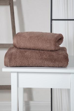 Полотенца Karna. Цвет: коричневый