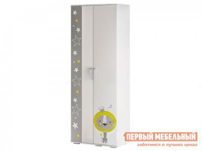 Шкаф детский  Трио для одежды ШК-09 Белый, звездное детство BTS. Цвет: белый