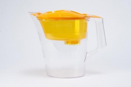 Фильтр-кувшин для очистки воды 4 л Чемпион Hoff. Цвет: сочный апельсин
