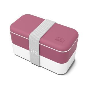 Ланч-бокс mb original blush (monbento) розовый 18x9x10 см. Monbento. Цвет: розовый