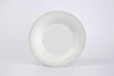 Тарелка десертная 20 см Античность Hoff. Цвет: белый