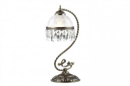 Лампа настольная Lumion Avifa Odeon Light. Цвет: состаренная бронза
