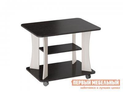 Журнальный столик  Стол Тип 8 Венге Цаво / Дуб Белфорт ТриЯ. Цвет: темное-cветлое дерево