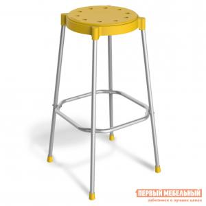 Барный стул  SHT-S48 Желтый / Хром лак Sheffillton. Цвет: серый