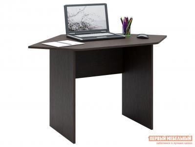 Письменный стол  МСТ-СДМ-2У Милан-2У Венге МФ Мастер. Цвет: венге