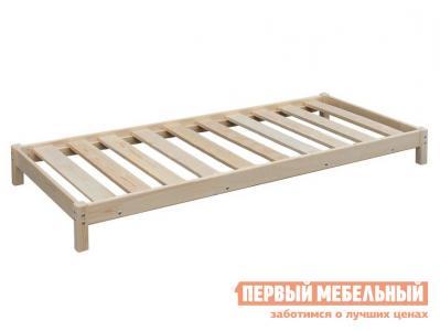 Односпальная кровать  Кровать-тахта с матрасом / без матраса Натуральный, Green Mebel. Цвет: светлое дерево