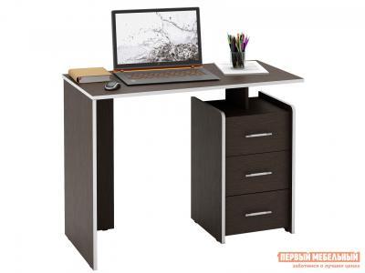 Письменный стол  Слим Венге, 1030 мм МФ Мастер. Цвет: венге