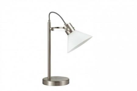 Лампа настольная Lumion Effi Odeon Light. Цвет: никель, белый