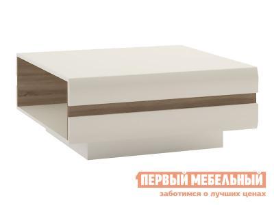 Журнальный столик  Стол Линате Белый / Сонома трюфель, Большой Анрэкс. Цвет: белый