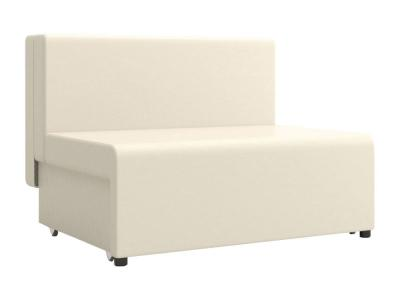 Прямой диван  Умка Молочный, искусственная кожа Столлайн. Цвет: бежевый