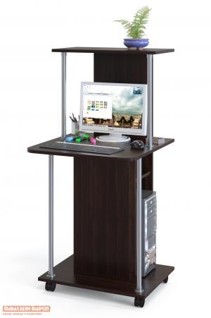 Компьютерный стол  КСТ-12 Венге Сокол. Цвет: венге