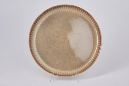 Тарелка закусочная Comet Hoff. Цвет: песочный