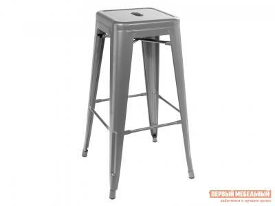 Барный стул  TOLIX YD-H765 Серебристый STOOL GROUP. Цвет: серый