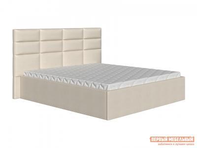 Двуспальная кровать  Коста Бежевый, рогожка, 140х200 см Первый Мебельный. Цвет: бежевый