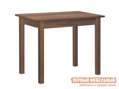 Кухонный стол  обеденный прямая ножка Орех Боровичи. Цвет: коричневое дерево