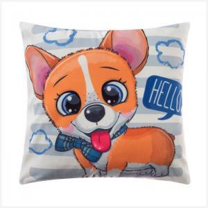 Декоративные подушки Крошка Я. Цвет: оранжевый, серый