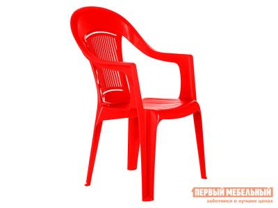 Пластиковый стул  Фламинго Красный, пластик Элластик Пласт. Цвет: красный