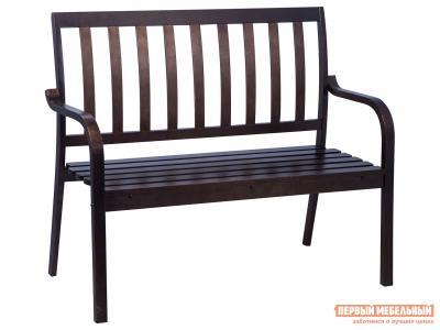 Садовый диван  Берн Дуб темный Mebwill. Цвет: коричневый