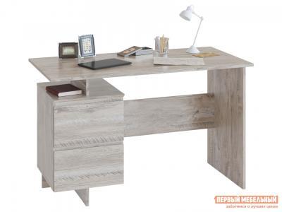 Письменный стол  СПм-19 Дуб Юкон Сокол. Цвет: серый