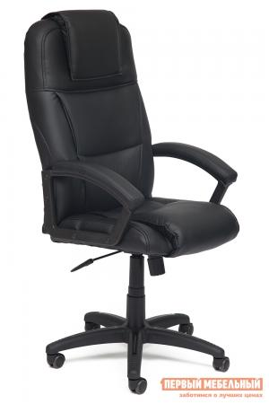 Кресло руководителя  Bergamo Иск. кожа черная PU C36-6 Tetchair. Цвет: черный