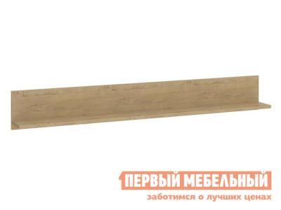 Настенная полка  Николь 3 Дуб Бунратти, 1779 мм ТриЯ. Цвет: светлое дерево