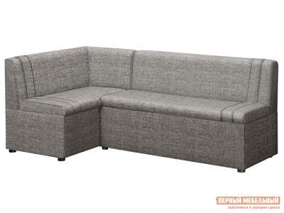 Кухонный уголок  Угловой диван Уют с ящиками Модерн Серый (ткань,1 кат), Левый Боровичи. Цвет: серый