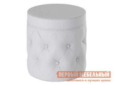 Пуфик  Пуф Тип 5 Белый, экокожа ТриЯ. Цвет: белый