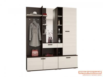 Прихожая  Комплект мебели для прихожей Инес Венге / Лоредо Эра. Цвет: темное-cветлое дерево