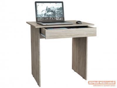 Компьютерный стол  письменный Милан-2Я Дуб Сонома МФ Мастер. Цвет: светлое дерево