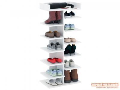 Обувница  Норта-3 Белый МФ Мастер. Цвет: белый