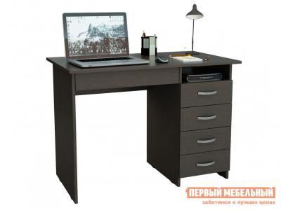 Компьютерный стол  письменный Милан-1 (0120) Венге МФ Мастер. Цвет: венге