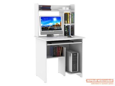 Компьютерный стол  Иртыш Белый БОНмебель. Цвет: белый