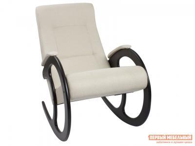 Кресло-качалка  Блуа КР Malta 01, рогожка, Венге Мебель Импэкс. Цвет: венге