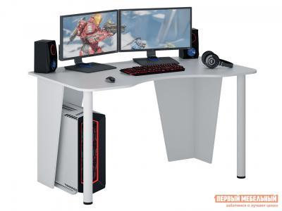 Компьютерный стол  МСТ-СИТ-02 игровой Таунт-2 Белый МФ Мастер. Цвет: белый