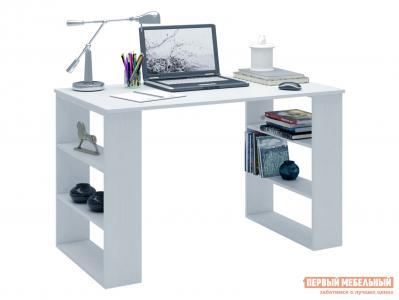 Письменный стол  МСТ-ССР-07 Рикс-7 Белый МФ Мастер. Цвет: белый