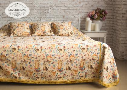 Покрывала, подушки, одеяла для малышей Les Gobelins. Цвет: оранжевый