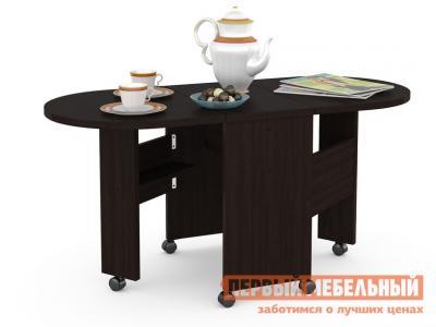 Журнальный столик  Глория 601 Стол-книжка Венге Магия Моби. Цвет: коричневый
