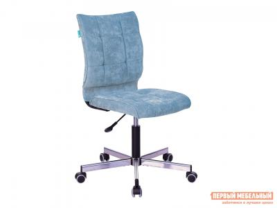 Офисное кресло  CH-330M LT-28 Серо-голубой, велювет Бюрократ. Цвет: серый