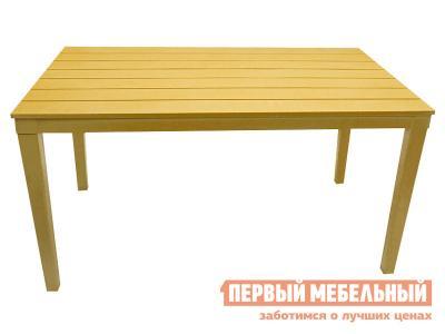 Пластиковый стол  Прованс прямоугольный Бежевый прованс, пластик Элластик Пласт. Цвет: бежевый