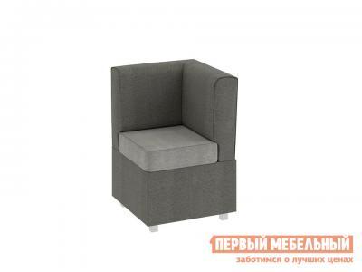 Кухонный диван  Каир угловой Ткань Мокко / Капучино ТриЯ. Цвет: серый