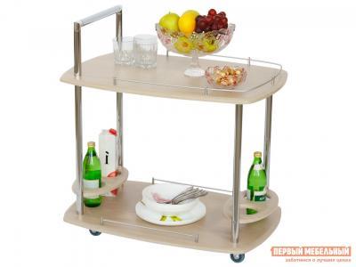 Сервировочный столик  Стол Банкет Дуб беленый Калифорния мебель. Цвет: светлое дерево