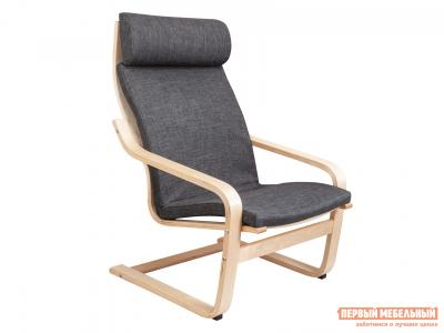 Кресло-качалка  Кресло для отдыха RELAX Темно-серый, ткань / Береза Sedia. Цвет: серый