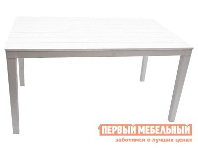 Пластиковый стол  Прованс прямоугольный Белый, пластик Элластик Пласт. Цвет: белый