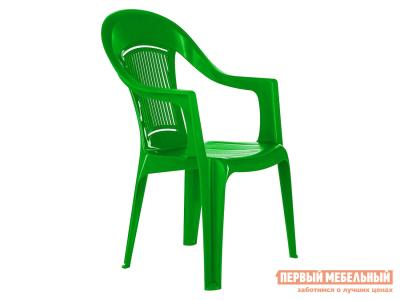 Пластиковый стул  Фламинго Зеленый, пластик Элластик Пласт. Цвет: зеленый