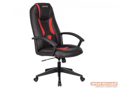 Игровое кресло  VIKING-8 Черный, экокожа / Красный, Бюрократ. Цвет: черный