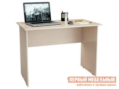 Компьютерный стол  письменный Милан-5 Дуб молочный МФ Мастер. Цвет: светлое дерево