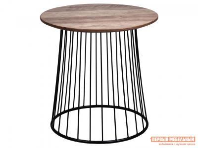 Журнальный столик  Стол FLIP Орех / Черный, 500 х мм Sedia. Цвет: черный