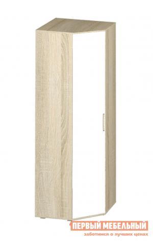 Шкаф детский  угловой Сенди Дуб сонома / Белый BTS. Цвет: белый