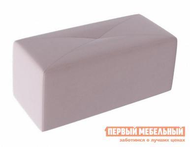 Пуфик  Пуф Тип 7 Велюр Светло-лиловый ТриЯ. Цвет: розовый