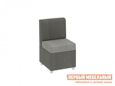 Кухонный диван  Каир прямой малый Ткань Мокко / Капучино ТриЯ. Цвет: серый